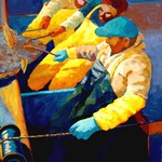 halibut fishermen oil