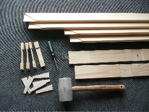 Stretcher Frame Components