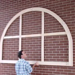 We've made a wide variety of arched-top frames