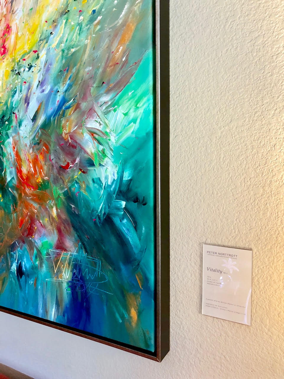 Floater frames: UCSArt.com customer William Watson photo credit